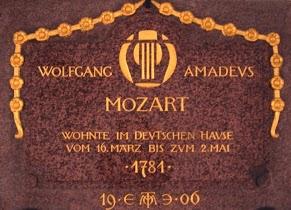 Mozart Schild