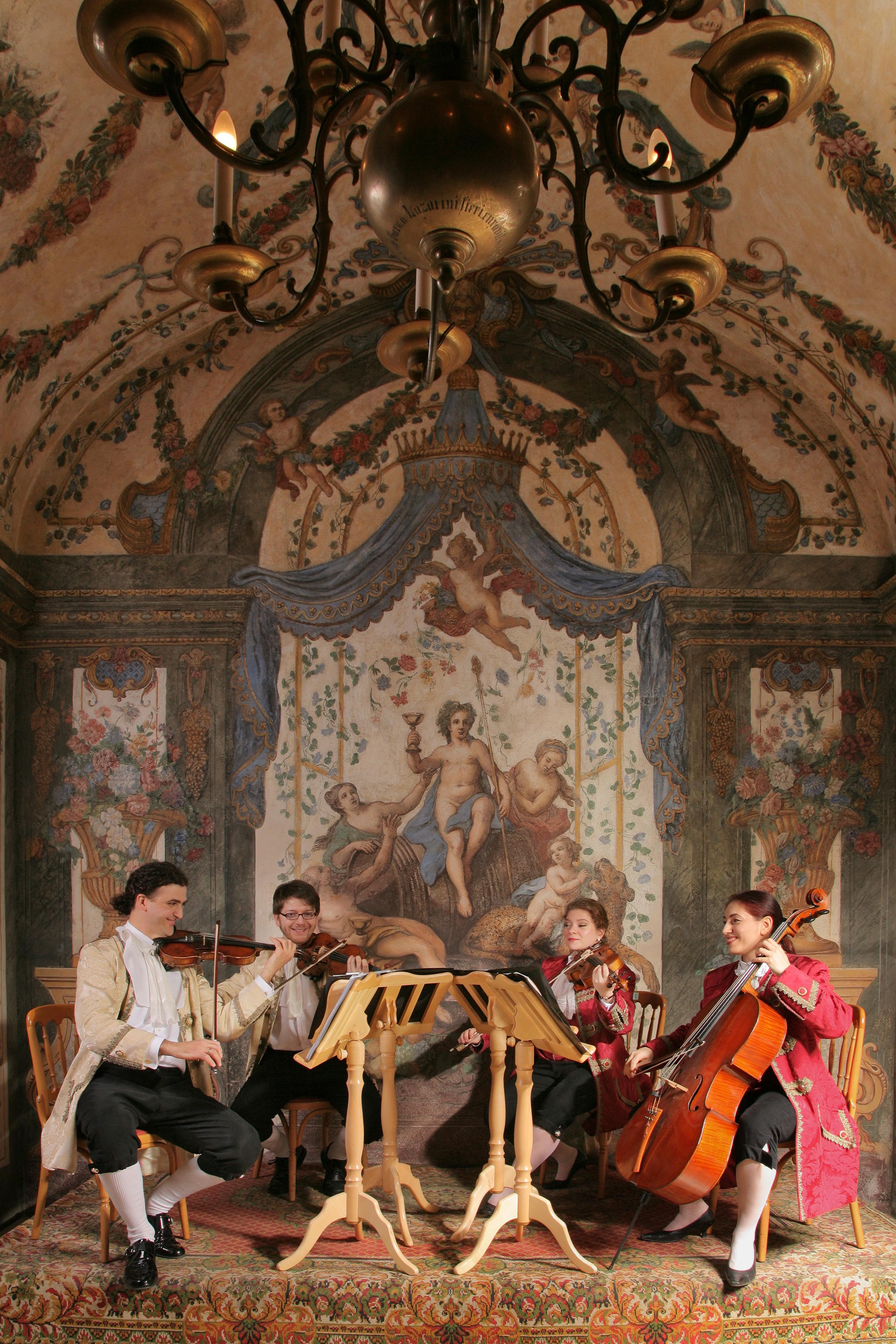 Mozart Ensemble in the Sala Terrena