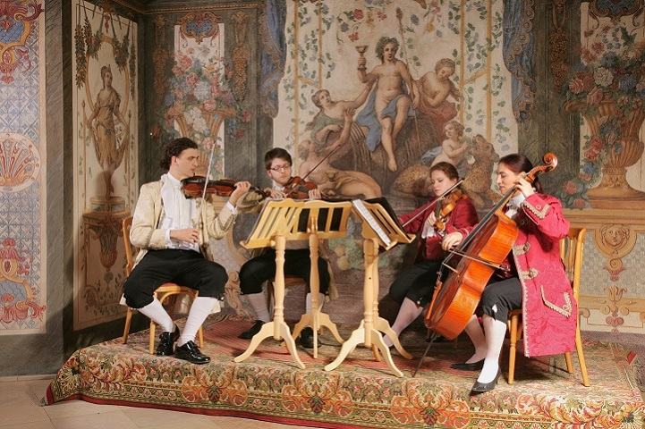 Das Mozart Ensemble in der Sala Terrena