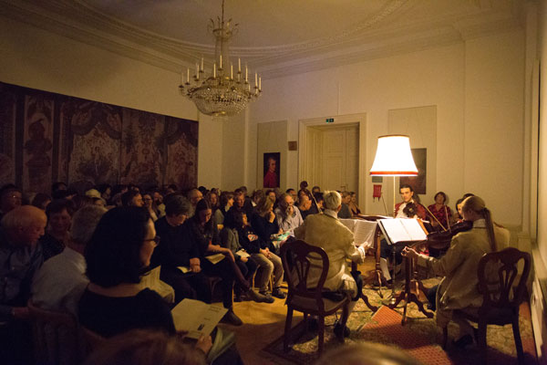 Colloredo Hall - and Mozart Ensemble performing