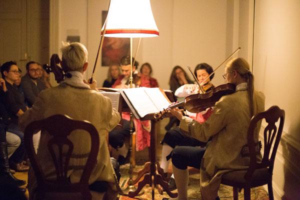 Mozart Ensemble in the Colloredo Hall
