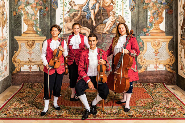 Mozart Ensemble at Sala Terrena